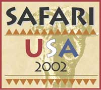 Safari USA 2002 logo